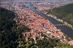 Aerial view of Heidelberg - Heidelberg University Hospital